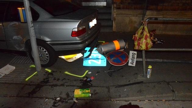 Opfer nach Autounfall im Rollstuhl: Schuldspruch (Bild: BPD Wien)