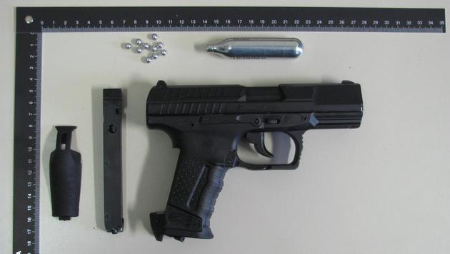 Pistolen bei Streitereien unter Nachbarn gezückt (Bild: Polizei)