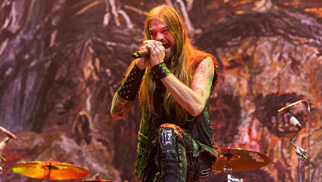 Dänen-Rocker Volbeat lieferten Kommerz mit Herz (Bild: Andreas Graf)