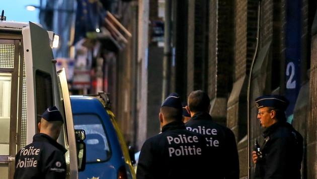 Festnahmen bei Anti-Terror-Razzien in Belgien (Bild: APA/EPA (Symbolbild))