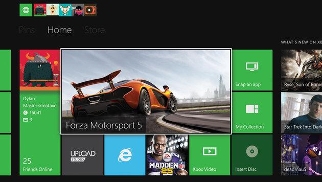 Microsoft startet App-Offensive für Xbox One (Bild: Microsoft)