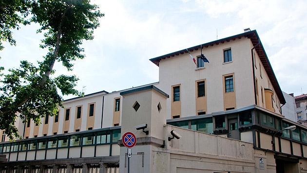 Die Justizanstalt in Triest (Bild: APA/EXPA/SPORTIDA/M. KLANSEK VELEJ)