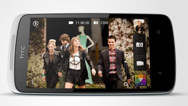 Android für Einsteiger: HTC Desire 500 im Test (Bild: HTC)