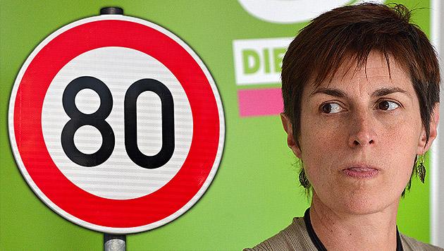 Hitzige Debatte um Tempo 80 geht in nächste Runde (Bild: APA/BARBARA GINDL, thinkstockphotos.de, krone.at-Grafik)