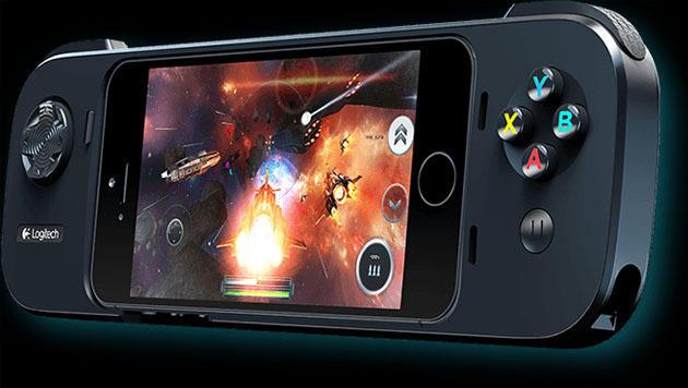 Logitech enthüllt Gaming-Halterung für iPhones (Bild: Logitech)