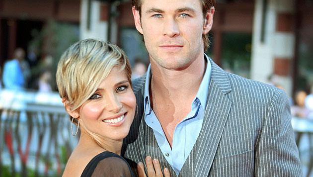 "Chris Hemsworth erteilt Gattin ""Playboy""-Verbot (Bild: AP)"