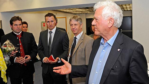 """Lässige Bewegung"" statt Team Stronach in Tirol (Bild: APA/Robert Parigger)"