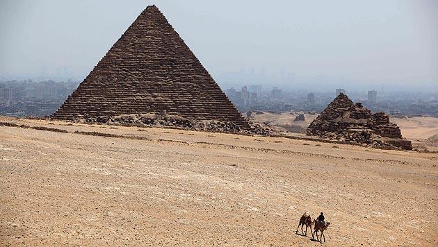 Die berühmte Cheops-Pyramide (Bild: AP)