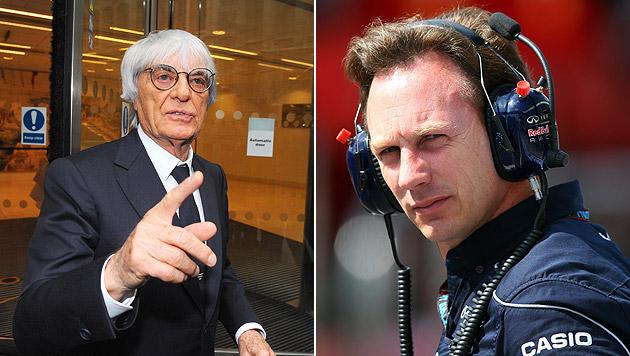 Ecclestone wünscht sich Horner als Nachfolger (Bild: AP/EPA)