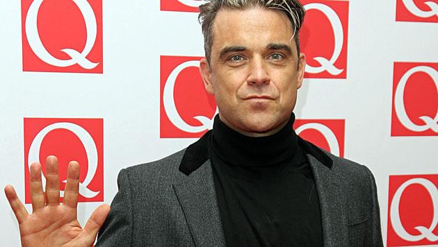 """Robbie Williams: Tochter ist """"alles, was zählt"""" (Bild: AP)"""