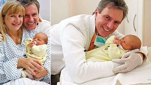 Schlager-Star Elsasser und sein Töchterl Jennifer (Bild: Alexander Tuma)