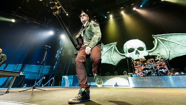 Avenged Sevenfold setzen zur Thronbesteigung an (Bild: Andreas Graf)