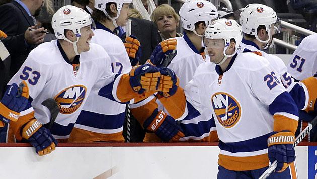 Islanders unterliegen Washington Capitals 2:3 (Bild: AP)