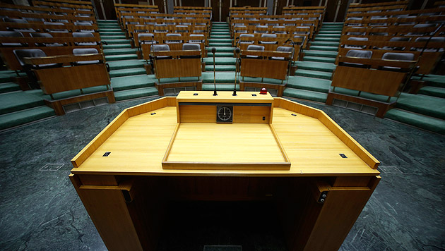Skandale, Hickhack: Politikerimage auf Allzeittief (Bild: APA/Georg Hochmuth)
