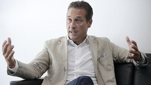Heinz-Christian Strache, FPÖ (Bild: APA/Hans Klaus Techt)