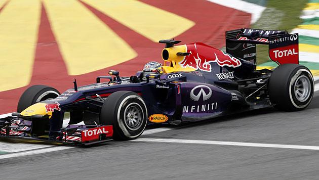 Vettel stellt mit 13. Saisonsieg Schumi-Rekord ein (Bild: AP)