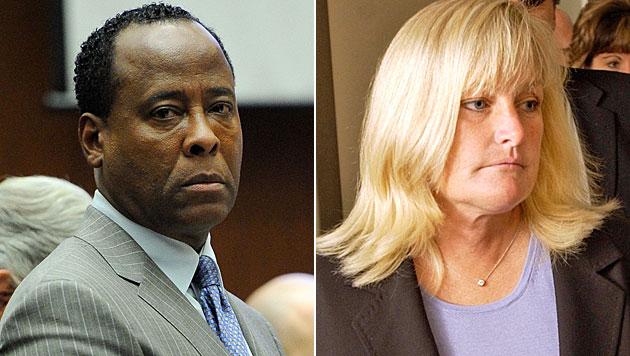 Jacksons Ex-Frau will Conrad Murray tot sehen (Bild: EPA, AP)
