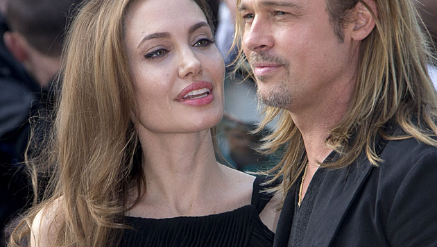 Jolie schenkt Pitt eine herzförmige Insel zum 50er (Bild: AP)