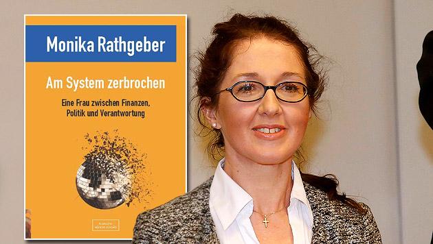 """Monika Rathgeber: """"Das Buch ist keine Abrechnung"""" (Bild: MARKUS TSCHEPP, Rathgeber, krone.at-Grafik)"""