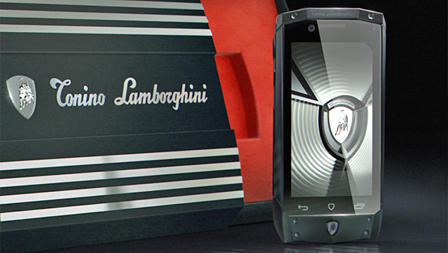 3.000-Euro-Smartphone von Lamborghini (Bild: lamborghinimobile.com)
