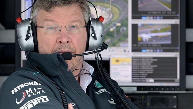 "Jetzt ist""s offiziell: Brawn verlässt Mercedes (Bild: EPA)"