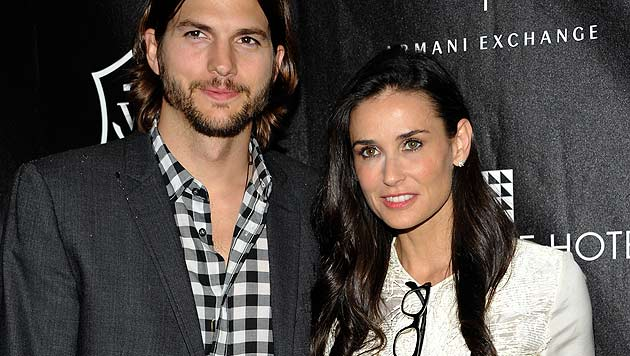 Scheidung von Kutcher und Moore ist nun amtlich (Bild: dapd)