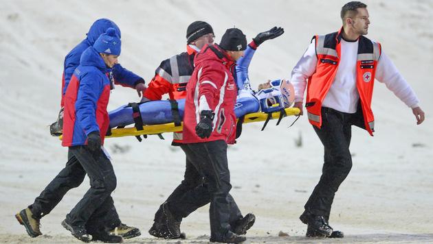 Sturzopfer Kofler kritisiert Klingenthal-Desaster (Bild: AP)