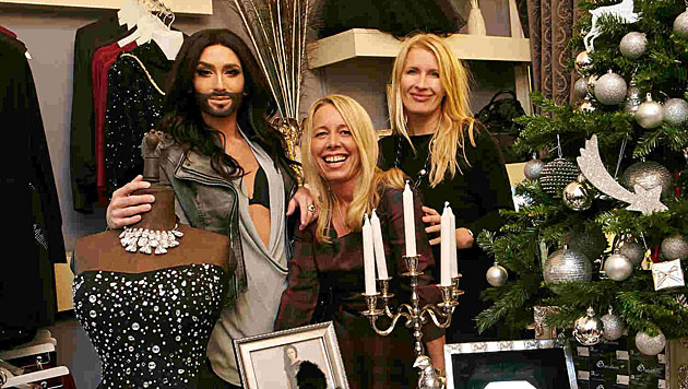 Conchita Wurst: Mit 42 Outfits zum Song Contest (Bild: Alexander Tuma)