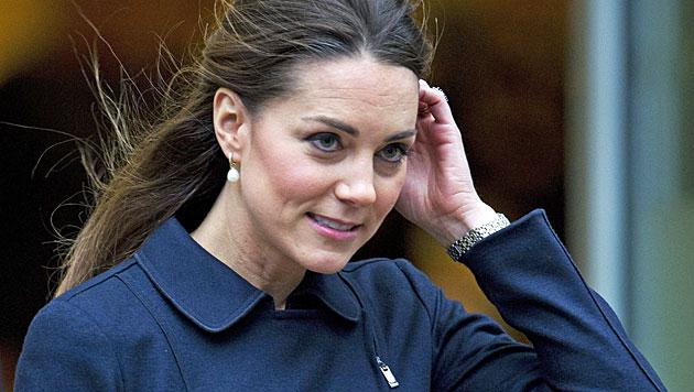 Kate im Babystress: George hält sie auf Trab (Bild: EPA)