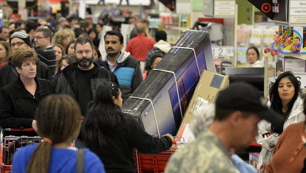 Raffinierte Technik hilft Händlern beim Kundenfang (Bild: EPA)