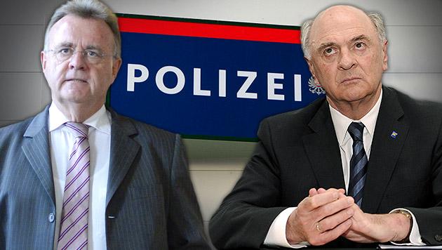 "Polizeiposten vor Aus: ""Falsch, hier zu sparen"" (Bild: APA/HERBERT PFARRHOFER, APA/HERBERT NEUBAUER, APA/ROBERT NEWALD)"