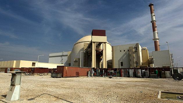 Das Kernkraftwerk Bushehr im Süden des Iran (Bild: AP)