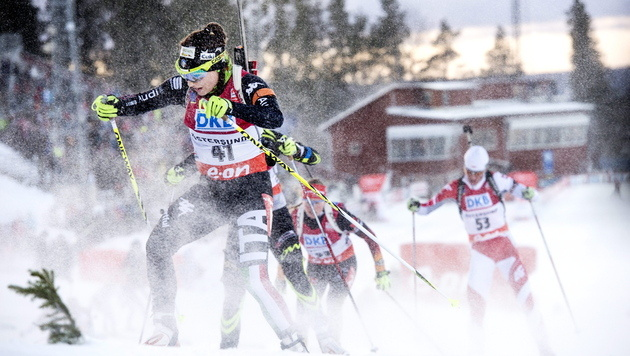 Starker Sturm verhindert Östersund-Rennen (Bild: APA/EPA/PONTUS LUNDAHL)