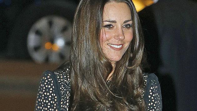 Kate ließ sich neue Frisur fast 1.000 Euro kosten (Bild: AP)