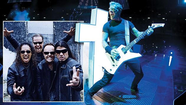 Heavy-Metal-Kultband Metallica kommt in die Krieau (Bild: Universal Music, krone.at-Grafik)