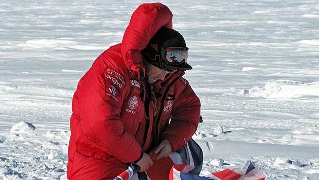 Prinz Harry und Team führen bei Südpol-Expedition (Bild: EPA)