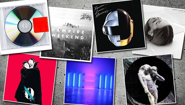 """""""Rolling Stone"""" kürte die 50 Top-Alben 2013 (Bild: Universal Music, Indigo, Sony Music, thinkstockphotos.de)"""