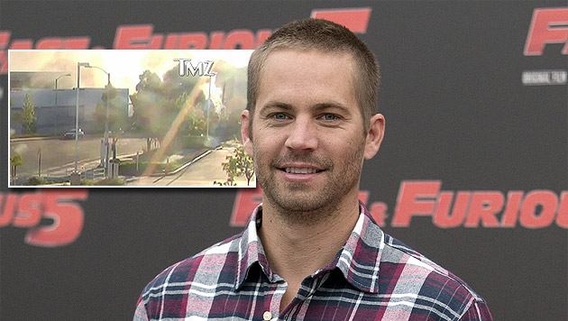 """TMZ"" zeigt Video von Paul Walkers Horror-Crash (Bild: AP, tmz.com, krone.at-Grafik)"