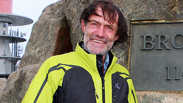 Alpinist Kammerlander erwägt Umzug nach Österreich (Bild: EPA)