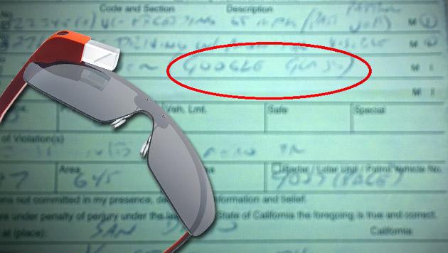 Google Glass am Steuer: Frau in USA vor Gericht (Bild: Google+/Cecilia Abadie, Google, krone.at-Grafik)