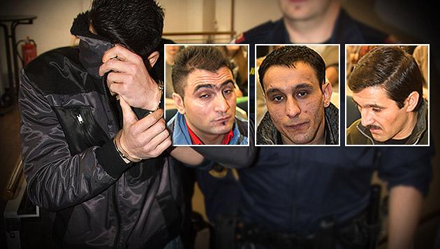 Raubmord in Salzburg: Vier Angeklagte verurteilt (Bild: neumayr/MMV, krone.at-Grafik)