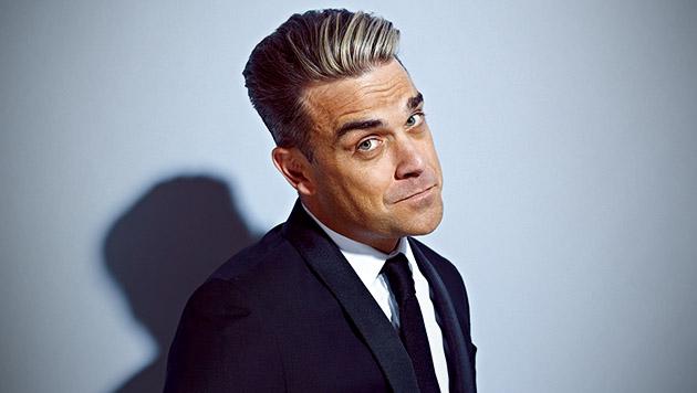 Sichern Sie sich Tickets für Robbie Williams (Bild: Universal Music, krone.at-Grafik)