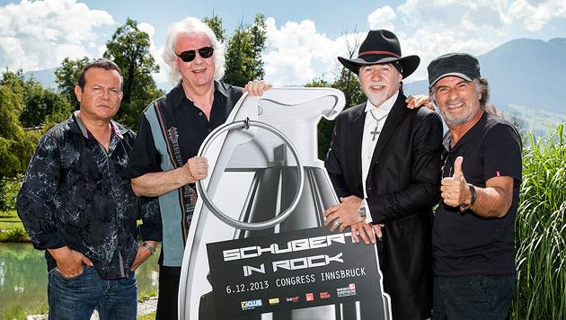 Rockstar-Elite live in Innsbruck zu sehen (Bild: Die Fotografen)