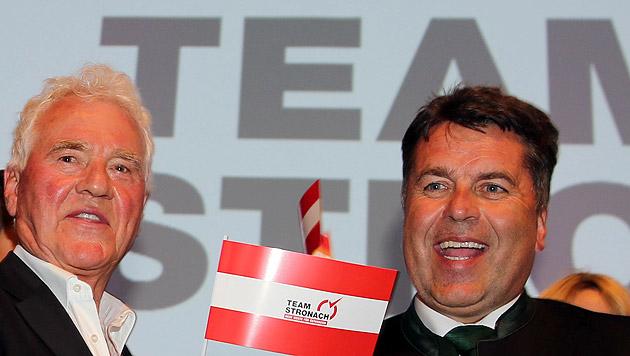 """""""Name Lifting"""": Team Stronach heißt Team Salzburg (Bild: APA/Franz Neumayr)"""