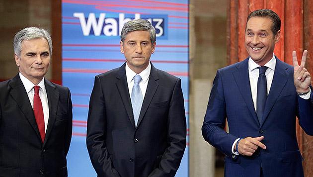 Neuwahlen jetzt wären Fiasko für SPÖ und ÖVP (Bild: APA/GEORG HOCHMUTH)