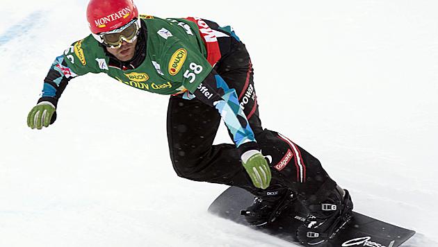 Heimsieg für Markus Schairer im Montafon (Bild: APA/DIETMAR STIPLOVSEK)