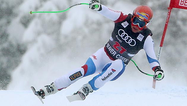 Schweizer Küng siegt vor Striedinger und Reichelt (Bild: AP)