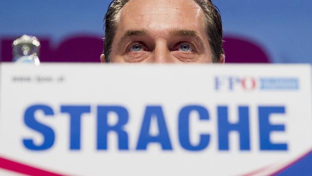 """Strache: """"Wir stehen knapp vor dem Durchbruch"""" (Bild: APA/ERWIN SCHERIAU)"""
