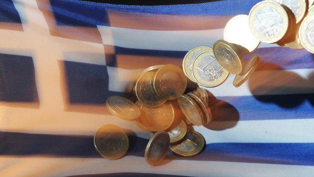 EU: Probleme bei Griechenlands Budget (Bild: dpa/Uli Deck)