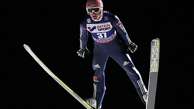 Freund gewinnt in Lillehammer, Morgenstern 5. (Bild: AP)